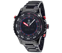 Herren-Armbanduhr Lugano Analog-Digital Quarz DT2058-E