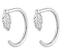 Damen-Ohrhänger Feder 925 Silber - 0302632717