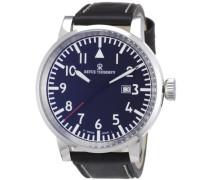 Herren-Armbanduhr XL Analog Leder 16053.1537