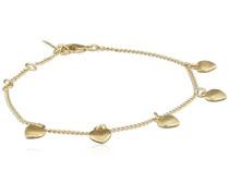 Damen-Armband Vergoldet mattiert 18.5 cm - 601712022
