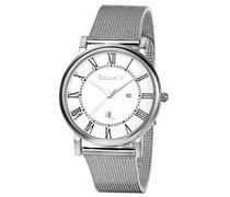Orphelia Herren-Armbanduhr XL Analog Quarz Edelstahl OR53770418