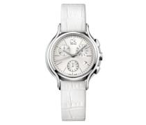 Calvin Klein Damen-Armbanduhr skirt Chronograph Quarz Leder K2U291L6