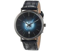 Herren-Armbanduhr FABRIANO Analog Quarz Leder CRA111SU03BL
