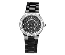 Damen-Armbanduhr Analog Quarz Premium Keramik Diamanten - STM15S4