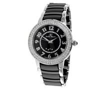 Damen-Armbanduhr Analog Quarz Premium Keramik Diamanten - STM13G464