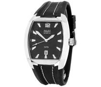Herren-Armbanduhr Analog Quarz Kautschuk M11680-645