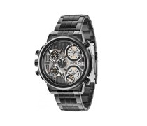 Police Herren-Armbanduhr XL PYTHON Analog Quarz Edelstahl beschichtet P13595JSB-61M