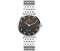 Michel Herbelin Damen-B99 17345/Damen-Armbanduhr-Quarz-Analog Edelstahl Silber