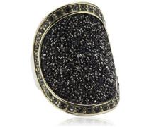 Damen-Ring Vergoldetes Metall Carly II sg grey