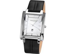Herren-Armbanduhr Analog Quarz Leder 210D123