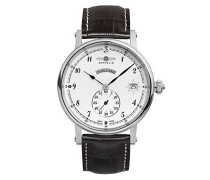 Zeppelin Damen-Armbanduhr Nordstern Analog Quarz Leder 75431