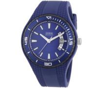 Unisex-Armbanduhr Analog Quarz Silikon W95143G4