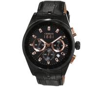 Herren-Armbanduhr VELIERO Analog Quarz Leder CRA089D222G