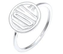 Damen Ring Love-Schriftzug 925 Sterling Silber silber