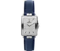 Damen-Armbanduhr Analog Leder Blau 17456/19SB