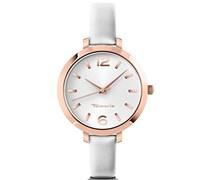 Tamaris Damen-Armbanduhr Annie Analog Quarz Leder B04215000