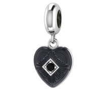 Endless Damen-Charm Big Heart schwarz Schmuck 3350–1