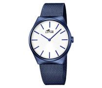 Herren-Armbanduhr Analog Quarz Edelstahl 18287/1