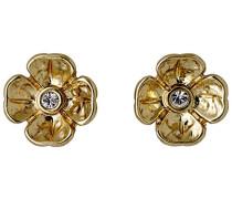 Damen Ohrstecker Vergoldet Kristall 611812013