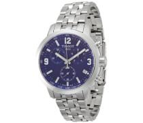 Tissot Herren-Armbanduhr Chronograph Quarz Edelstahl T055.417.11.047.00