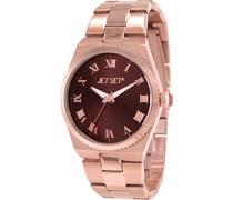 Damen-Armbanduhr Success Analog Quarz Edelstahl J6110R-722