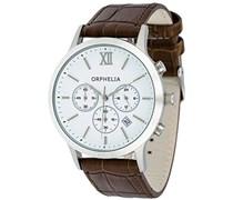 Orphelia Herren-Armbanduhr Chronograph Quarz Kunstleder OR55690013