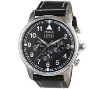 Herren-Armbanduhr TERRA Analog Quarz Leder CRA081A222G