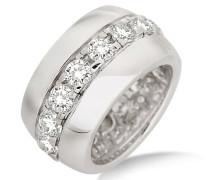 Joy Damen-Ring 925 Sterlingsilber rhodiniert und Zirkonia JA102RO