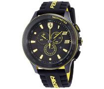 Ferrari Herren-Armbanduhr XL Scuderia XX Analog Quarz Silikon 830139