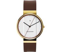 Herren-Armbanduhr Analog Quarz Kautschuk 32758