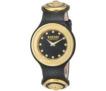Versus  Damen -Armbanduhr  Analog  Quarz Leder SCG020016