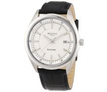 Regent Herren-Armbanduhr XL Analog Automatik Leder 11050071