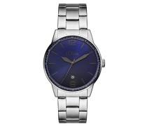 s.Oliver Herren-Armbanduhr Analog Quarz Edelstahl SO-3099-MQ