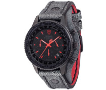 Detomaso Herren-Armbanduhr Firenze Retro Chronograph Quarz Edelstahl DT1073-A