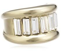 Dyrberg/Kern Damen-Ring Vergoldetes Metall Kristall Swarovski 336212