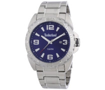 Timberland Herren-Armbanduhr XL Analog Quarz Edelstahl TBL.13850JS/03M