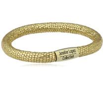 Damen-Armband JLo Reptil Edelstahl teilvergoldet Leder 19.0 cm - 1051-19