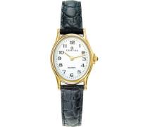 Damen-Armbanduhr Analog Quarz Schwarz 646461