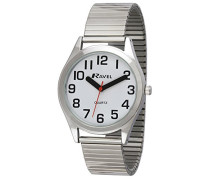 Herren-Armbanduhr  Easy Read Watch with Bold Hands. Analog Edelstahl Silber R0225.01.1