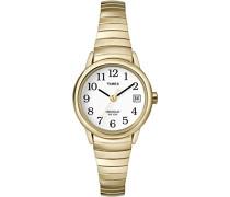 Damen-Armbanduhr XS Flexbanduhren Analog Edelstahl beschichtet T2H351PK