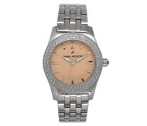 Damen-Armbanduhr Analog Quarz Edelstahl DHD 003S/EM
