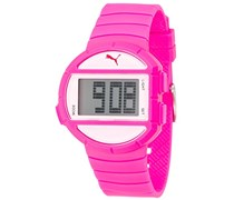 Puma Time Damen-Armbanduhr Half Time S Pink Digital Quarz Plastik PU910892007