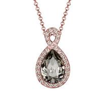 Halskette Infinity Swarovski Kristalle rosé vergoldet 0111791215
