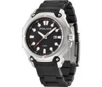 Police Herren-Armbanduhr Analog Quarz Plastik PL.13939JS/02