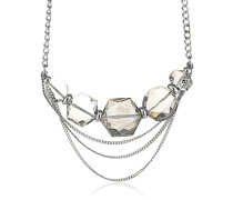 Damen Halskette Edelstahl Kristall 336126