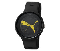 Herren-Armbanduhr XL Slick - Big Cat Analog Quarz Plastik PU910871002