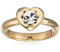 Guess Damen-Ring Metalllegierung Glas weiß Gr. 54 (17.2) - UBR51409-54