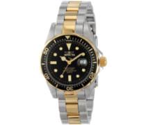 Invicta Damen-Armbanduhr XS Analog Quarz Edelstahl beschichtet 4867