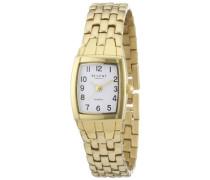 Regent Damen-Armbanduhr Analog Edelstahl beschichtet 12210849