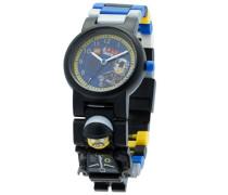 Movie Bad Cop Kinder-Armbanduhr mit Minifigur und Gliederarmband zum Zusammenbauen